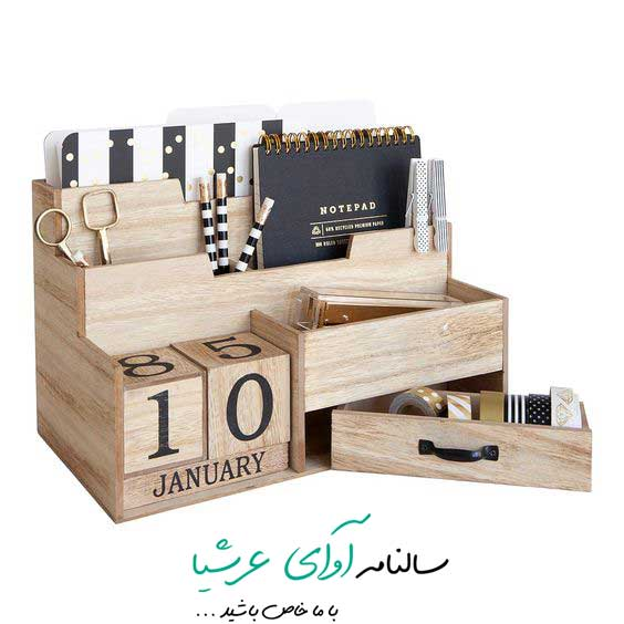 ساخت تقویم چوبی