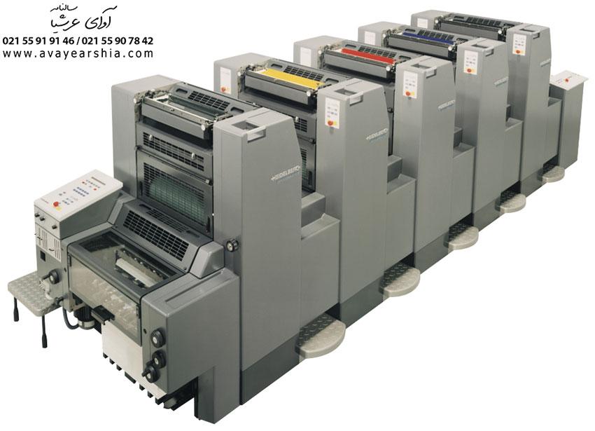 اجزای دستگاه چاپ افست